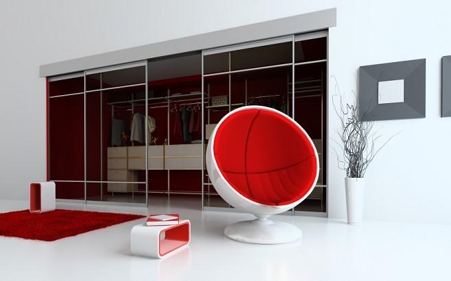 modern apartment interior (3D rendering)